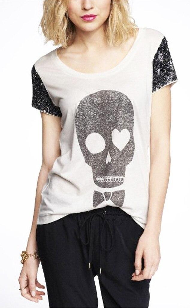 Punk Grunge Trend, Express Skull Tee