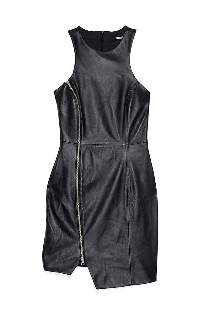 Punk Grunge Trend, Nicholas Leather Dress