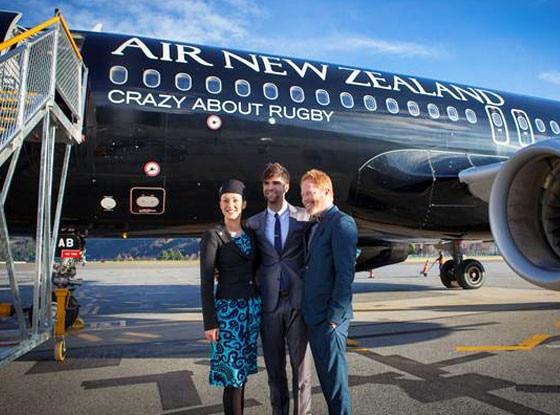 Jesse Tyler Ferguson, Air New Zealand