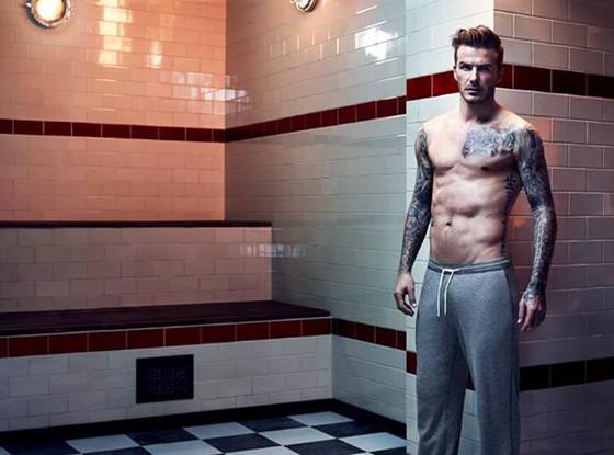 David Beckham, H & M