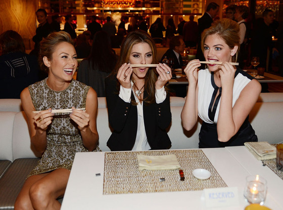 Stacy Keibler, Maria Menounos, Kate Upton