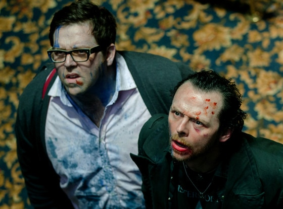 Nick Frost, Simon Pegg, The World's End