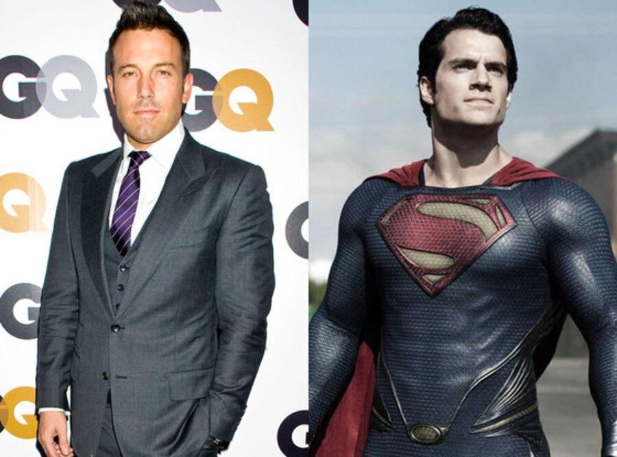 Henry Cavill, Man of Steel, Superman, Ben Affleck