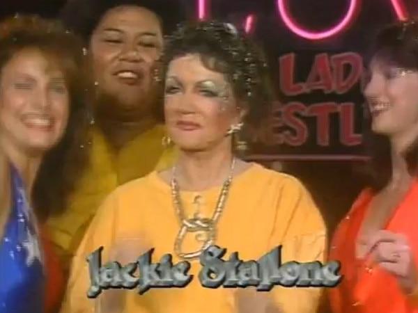 GLOW Jackie Stallone