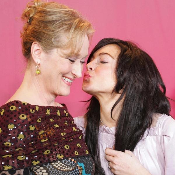 Meryl Streep, Lindsay Lohan