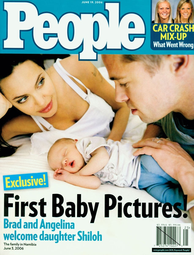 Angelina Jolie, Brad Pitt People Cover