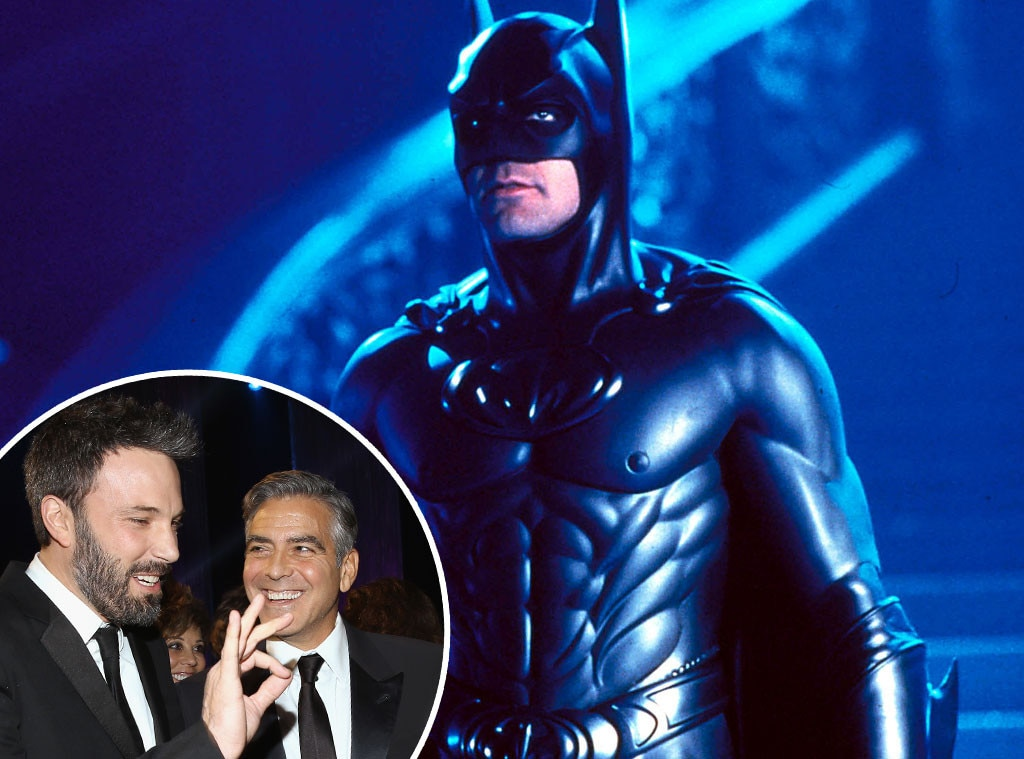 Batman and Robin, George Clooney, Ben Affleck