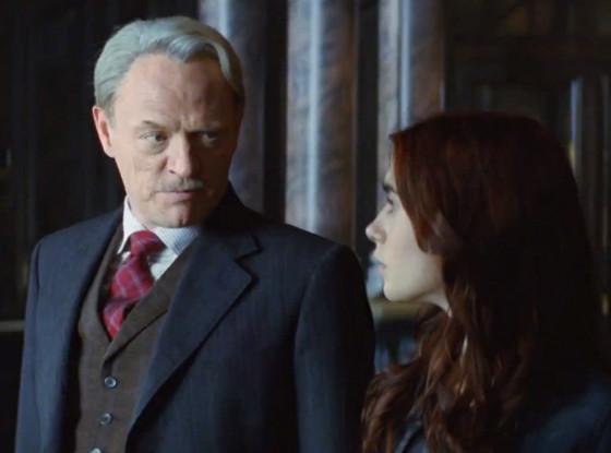 Jared Harris, Lily Collins, Mortal Instruments: City of Bones