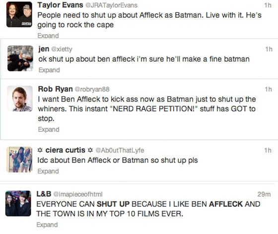 Affleck Batman - Shutup