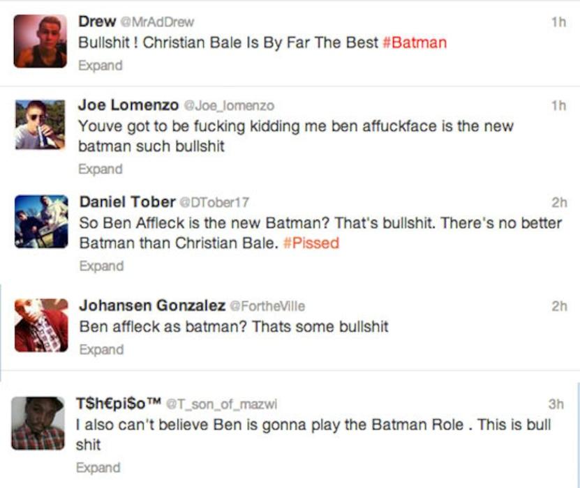 Affleck Batman - Bullshit