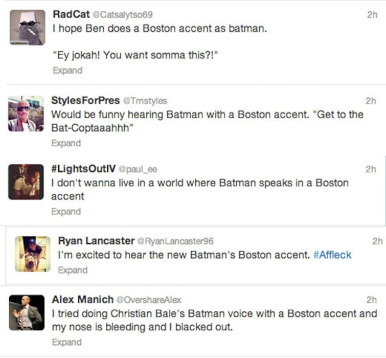 Affleck Batman - Boston