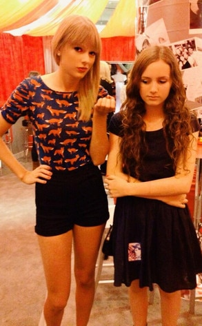Taylor Swift, Maude Apatow, Twit Pic