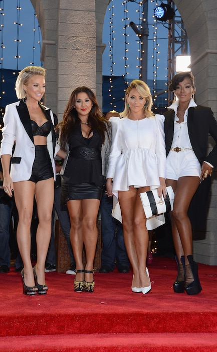 MTV Video Music Awards, Shannon Bex, Andrea Fimbres, Aubrey O'Day, Dawn Richards, Danity Kane