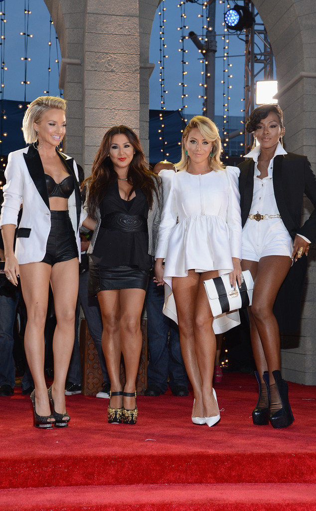 MTV Video Music Awards, Shannon Bex, Andrea Fimbres, Aubrey O'Day, Dawn Richards, Danity Kane