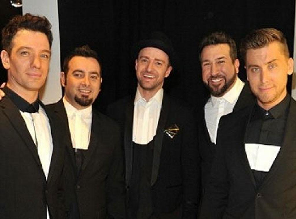 Justin Timberlake, Chris Kirkpatrick, Lance bass, Joey fatone