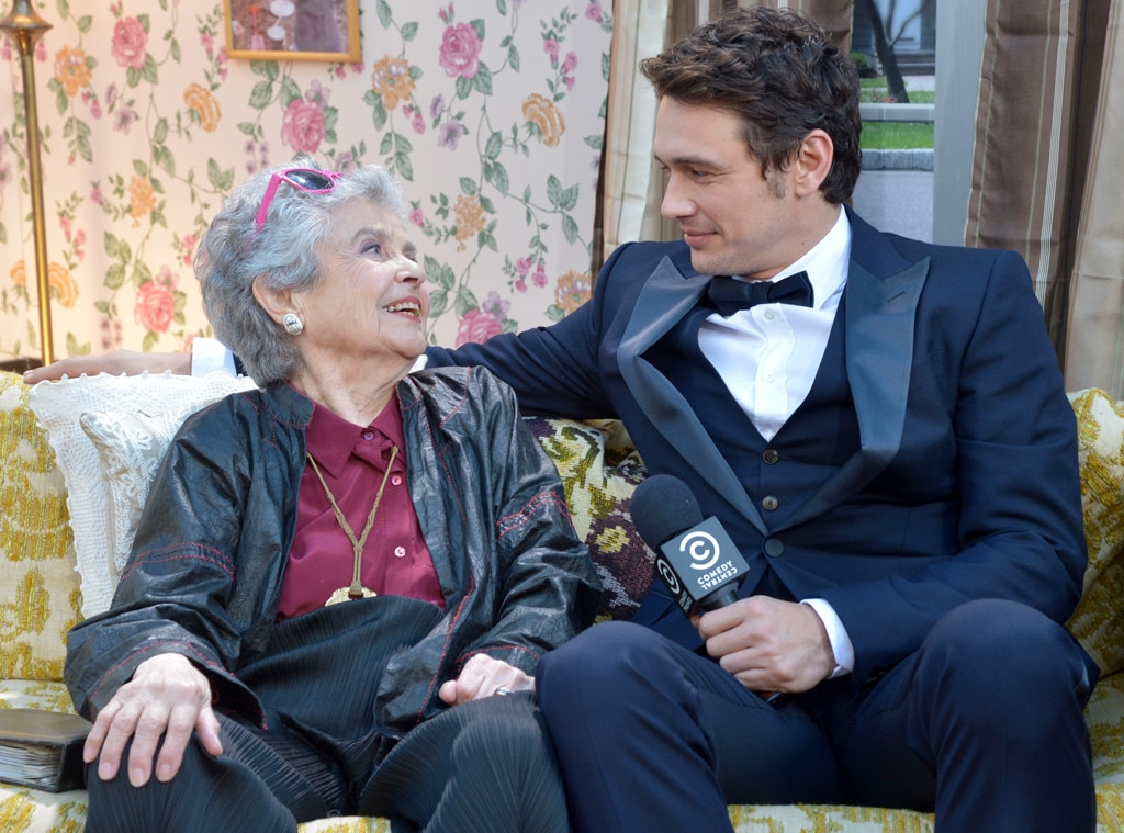 Mitzie Verne, James Franco, The Comedy Central Roast of James Franco