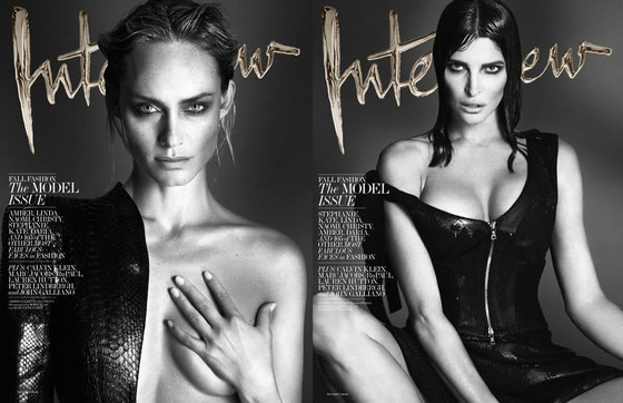 Interview Magazine, Supermodels