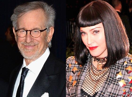 Steven Spielberg, Madonna
