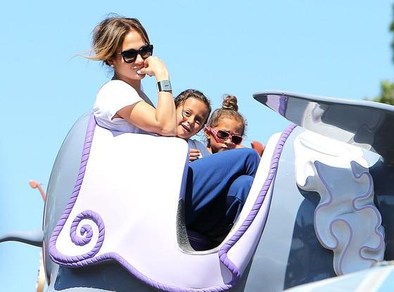 Max, Emme, Jennifer Lopez