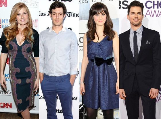 Connie Britton, Adam Brody, Zooey Deschanel, Matt Bomer