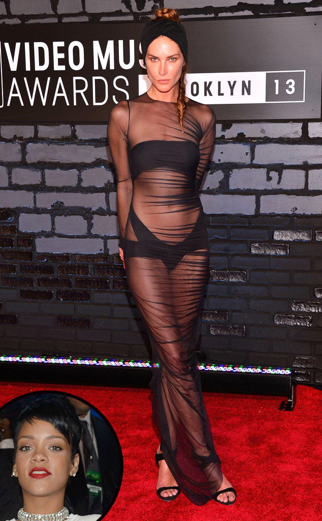 MTV Video Music Awards, Erin Wasson, Rihanna