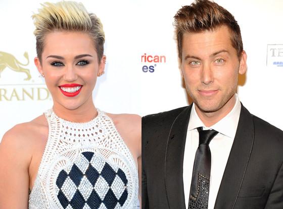 Miley Cyrus, Lance Bass
