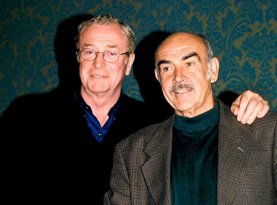 Michael Caine, Sean Connery