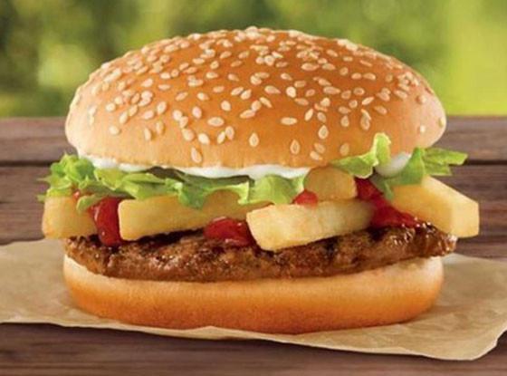 Burger King Fry Burger