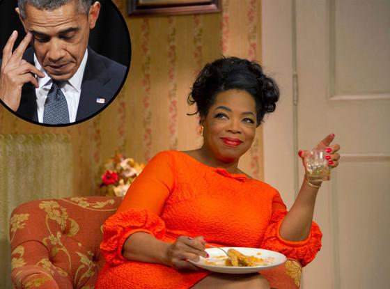 Oprah Winfrey, The Butler, US President Barack Obama