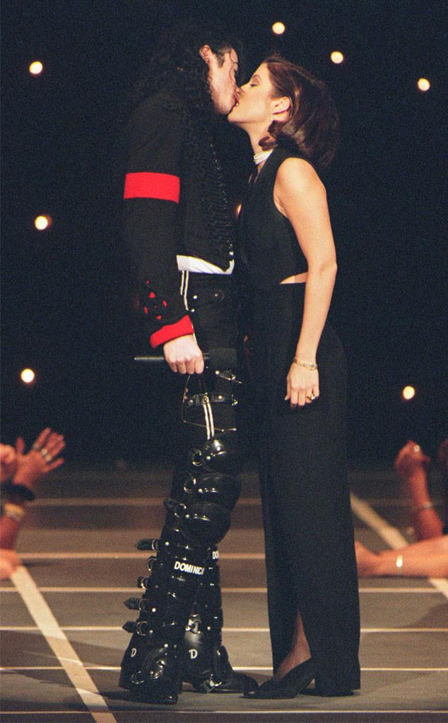 Michael Jackson, Lisa-Marie Presley, MTV Video Music Awards, VMA