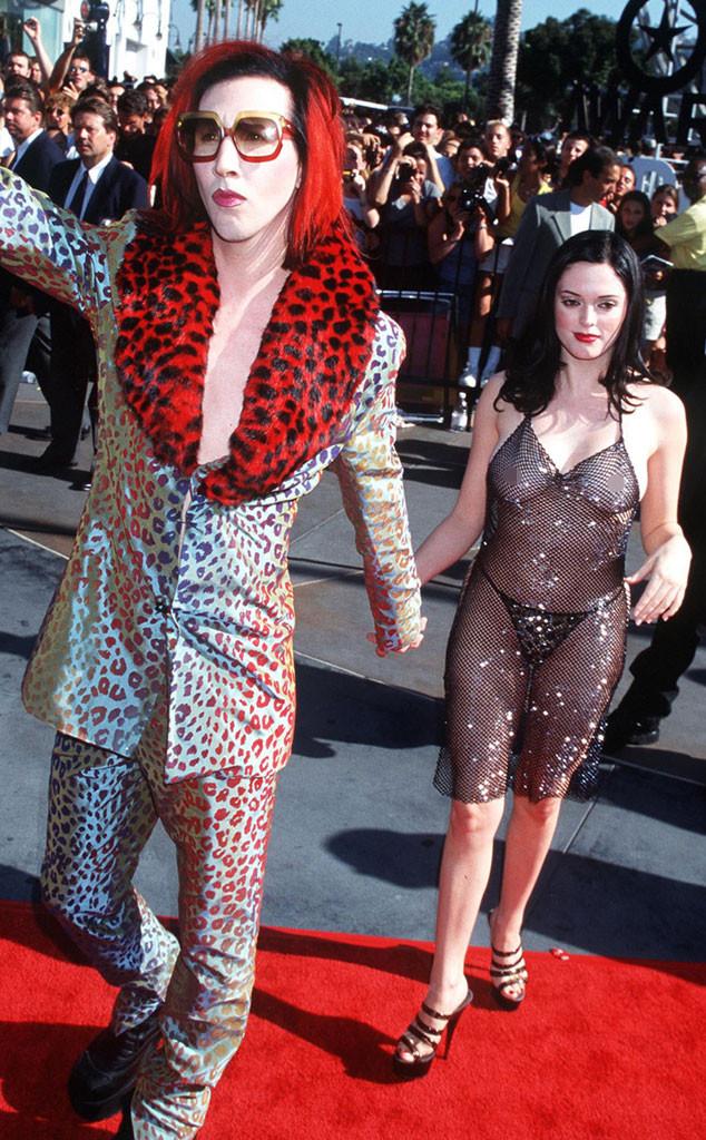 Marilyn Manson, Rose McGowan, MTV Video Music Awards