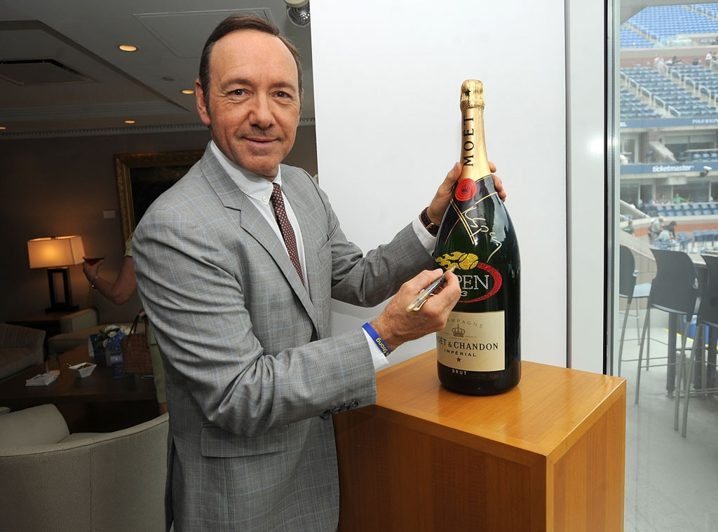 Kevin Spacey, US Open