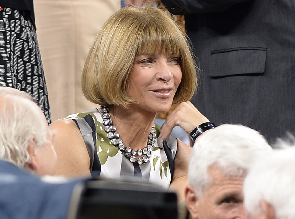 Anna Wintour, US Open