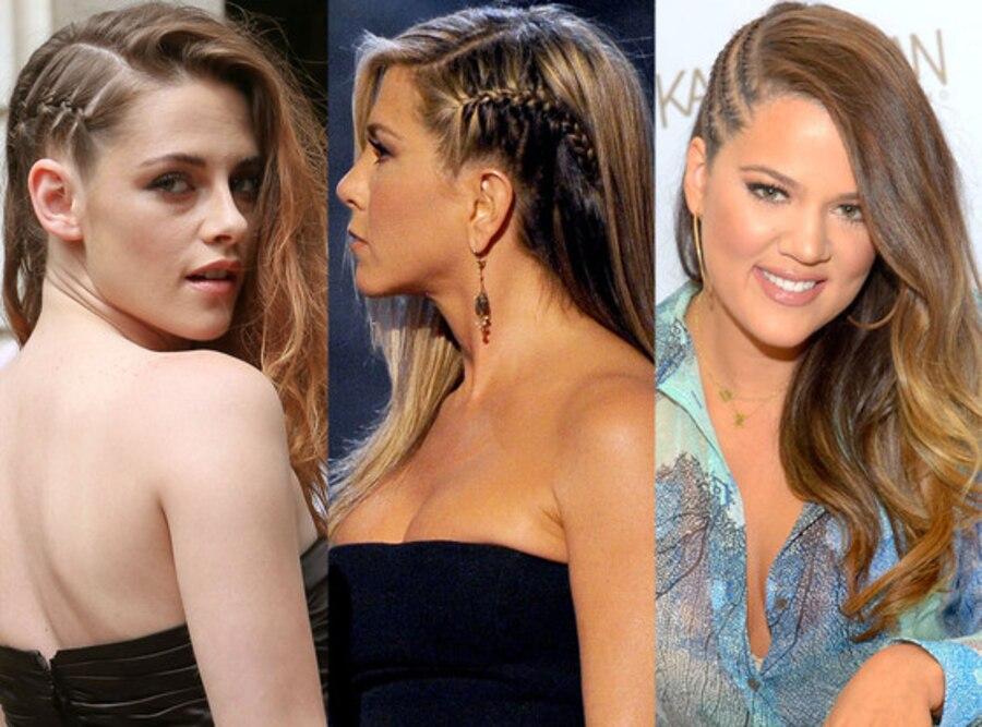 Kristen Stewart, Jennifer Aniston, Khloe Kardashian Odom