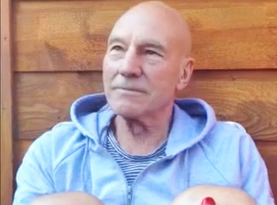 Patrick Stewart, Quadruple Take Masterclass Video