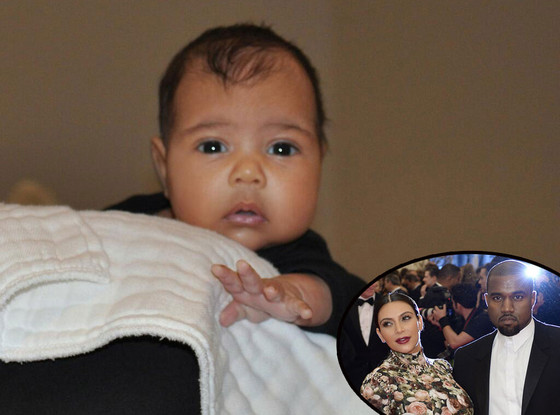 Kanye West, Kim Kardashian, North