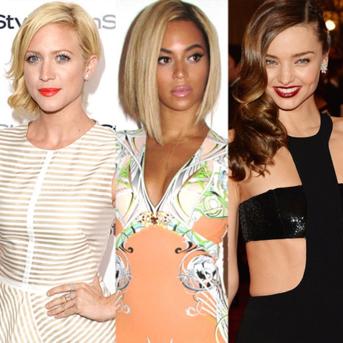 Brittany Snow, Beyonce, Miranda Kerr