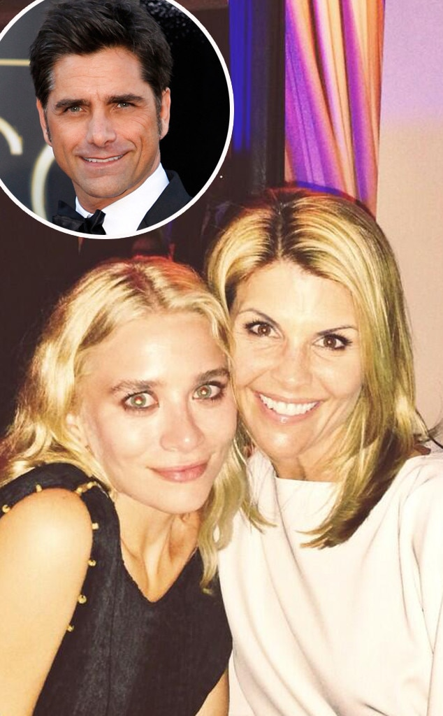 Ashley Olsen, Lori Loughlin, John Stamos