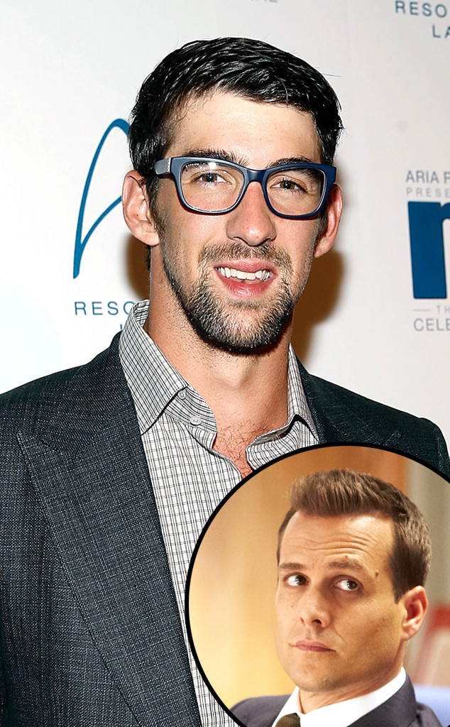 Michael Phelps, Gabriel Macht