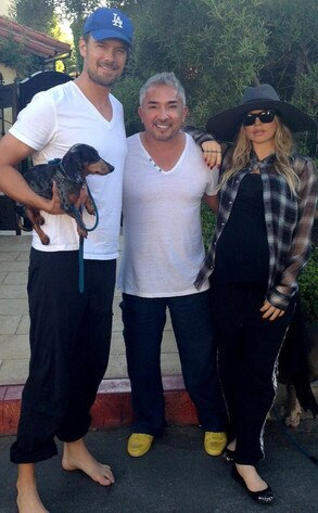 Josh Duhamel, Cesar Milan, Fergie