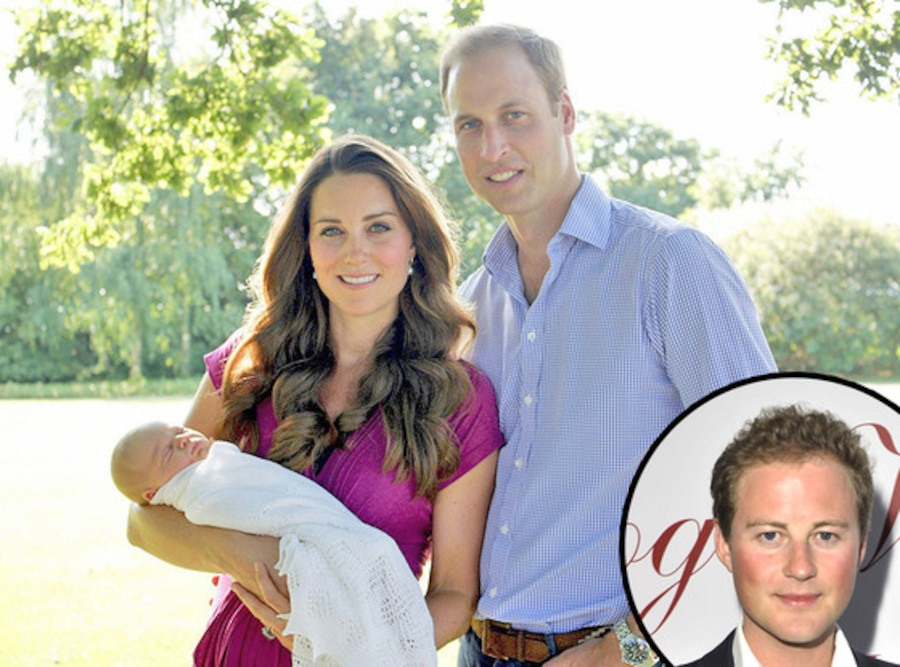 Prince George, Prince William, Duchess Kate Middleton, Guy Pelly