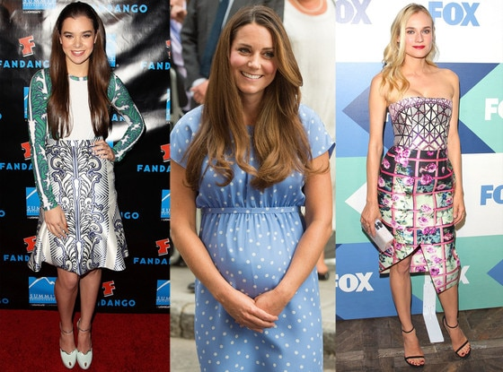 Hailee Steinfeld, Kate Middleton, Duchess of Cambridge, Diane Kruger, Best of Summer