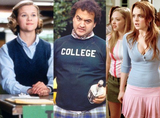 School Movies: Election, Animal House, Mean Girls