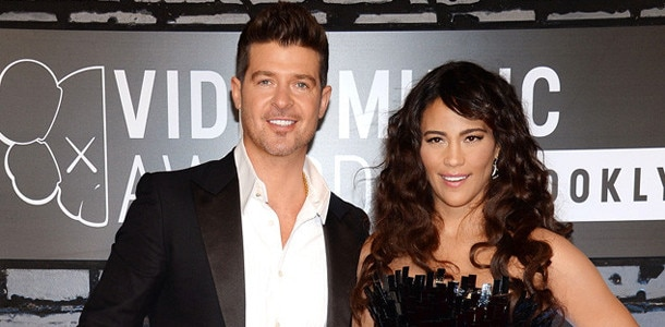MTV Video Music Awards, Paula Patton, Robin Thicke