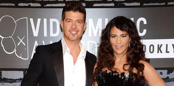 MTV Video Music Awards, Paula Patton, Robin Thicke