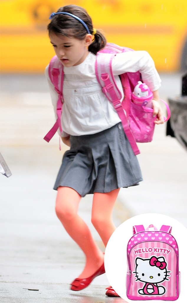 Suri Cruise, Back to School