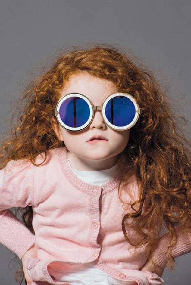 Karen Walker Glasses Campaign, Alice Rose