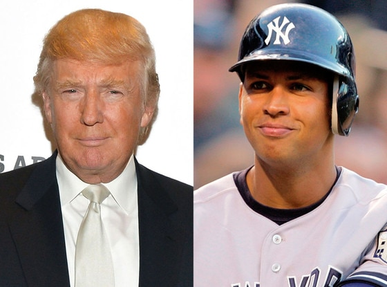 Donald Trump, Alex Rodriguez