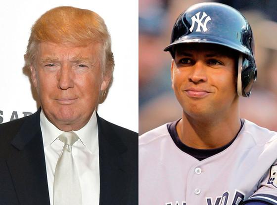 Donald Trump, Alex Rodriguez