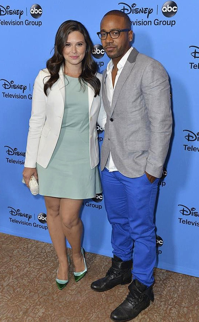 ABC TCA Party, Katie Lowes, Columbus Short